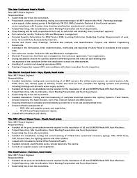 Examples Of Hvac Resumes by Sample Resume For Hvac Maintenance Engineer Contegri Com