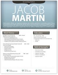 Resume Template Mac Word
