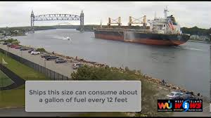 chinese cargo ship transits the cape cod canal july 14 2017 youtube