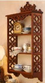 Wall Mounted Shelves Wood Plans by Scrollsaw Shelves Woodworking Plans Projects At