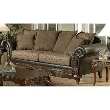 Chocolate Living Room Furniture by Chelsea Home Serta Ronalynn Sofa San Marino Chocolate Walmart Com