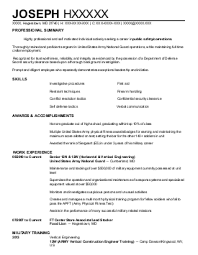 Technician Resume Example  Time Warner Cable    Terre Haute  Indiana