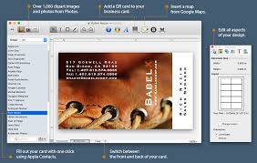 Business Card Printing San Diego Business Card Composer U2014 Advanced Business Card Maker For Mac