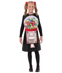 bubbly gumball machine kids costume food costumes