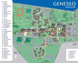 G Map Campus Map Suny Geneseo