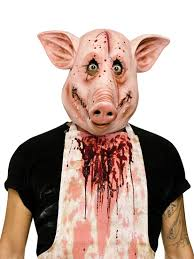 tiger halloween costumes 93246 psycho pig mask large jpg 825 1 100 pixels masks