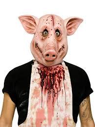 halloween costume mask 93246 psycho pig mask large jpg 825 1 100 pixels masks