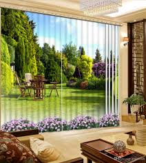 curtains home decor 2017 high quality customize size modern home curtains green park