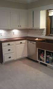 Kitchen Design Backsplash Flooring White Kitchen Cabinets With Tile Backsplash And Cozy