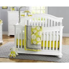 White Convertable Crib by Sorelle Vista Elite 4 In 1 Convertible Crib White