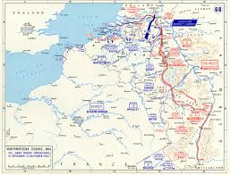 Map Of Western Europe by Map Map Noting The Front Lines Of The Western Front Of European