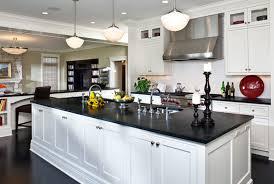kitchen room kitchen decoration black granite countertop brown