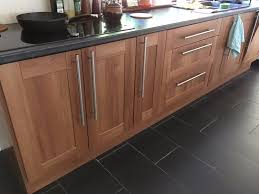 kitchen cabinets westleigh walnut effect shaker doors reserved