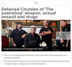 Chumlee is in arrest   Pawn Stars   Know Your Meme Know Your Meme Chumlee is in arrest