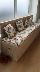 Diy Reclaimed Wood Storage Bench by Best 25 Bench With Back Ideas On Pinterest Wood Bench With Back