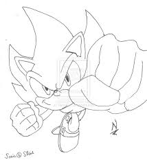 super sonic coloring pages stunning classic super sonic coloring pages gallery printable