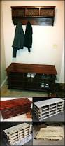 Diy Reclaimed Wood Storage Bench by Best 25 Pallet Benches Ideas On Pinterest Pallet Bench Pallet