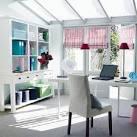 Interior Designs: White Multifunctional Cabinets White Desk Grey ...
