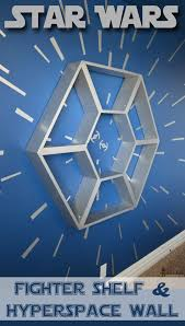 Star Wars Kids Rooms by Star Wars Shelf And Hyperspace Wall Star Wars Bedroom Focal
