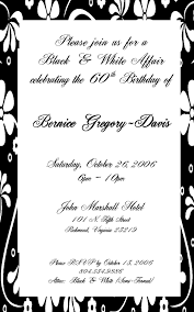 Invitation Cards Sample Format Images For U003e Birthday Dinner Party Invitation Template