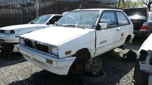 lexus junkyard los angeles junkyard treasure 1988 subaru justy 4wd rs autoweek