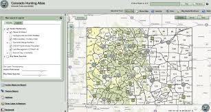 Colorado Unit Map by Colorado Elk Unit Map Image Information