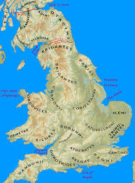 Map Of South Of France by Iron Age Tribes Of Southern Britain Interactive Map