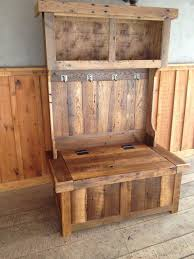 Diy Reclaimed Wood Storage Bench by 42 Best Hall Trees Images On Pinterest Hall Trees Door Hall