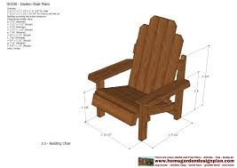 Free Outdoor Furniture Plans by Home Garden Plans Gc100 Garden Chair Plans Out Door Furniture