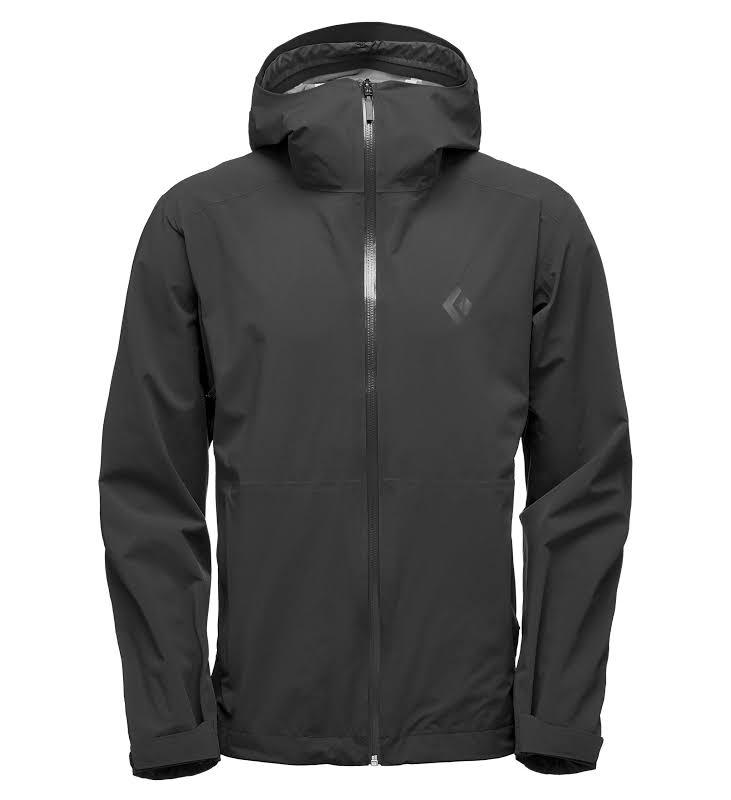Black Diamond Stormline Stretch Rain Shell Jacket Men Black Medium APCDT0015MED1