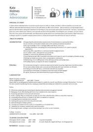 Linux System Administrator Resume Sample by Finance Administrator Cv Sample Myperfectcv System Administrator