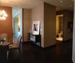 Vdara Panoramic Suite Floor Plan Model Home Mandarin Oriental Las Vegas Condos Unit 2907 Las