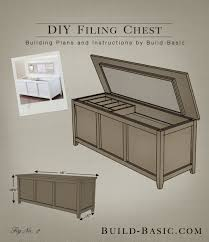 Plans To Build A Storage Bench by Bedroom Excellent Build A Diy Filing Chest Basic Within File