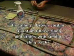 Brown Jordan Outdoor Furniture Repair by How To Videos Pdfs For Patio Or Pool Furniture Repairs