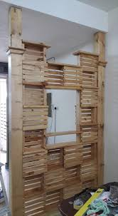 Room Divider Diy by Diy Pallet Office Room Divider 99 Pallets