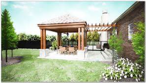 Simple Covered Patio Designs by Covered Back Patio Streamrr Com