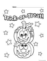 Halloween Preschool Printables 100 Free Printable Halloween Pumpkin Coloring Pages Blank