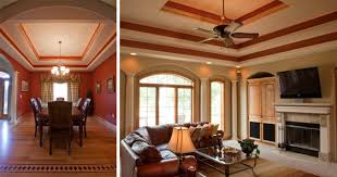 Example of professional house painting