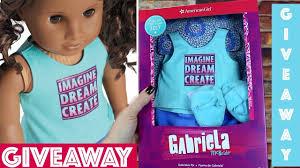Girls Bedroom Gabriella Gabriela U0027s Pjs Giveaway American Doll Gabriela Mcbride