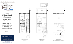 Common House Floor Plans by Silvergate Homes 1600 Sq Feet Willow Bank Common Silvergate Homes
