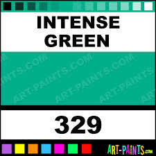 Best Color Codes Intense Green Artist Watercolor Paints 329 Intense Green Paint