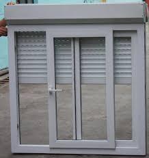 aluminum electric rolling blinds upvc window china mainland windows