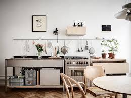 Sur La Table Kitchen Island Steal This Look Smart Storage In A Swedish Kitchen Remodelista