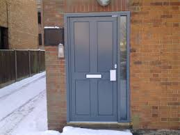 contempory composite entrance doors