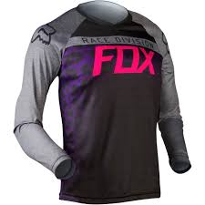 black motocross jersey all new fox racing 2015 womens switch silvah jersey purple pink