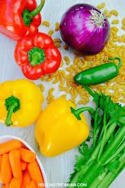 Pasta Salad Ingredients Nutritarian Macaroni Salad Watch My Very First Recipe Video