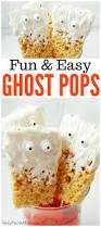 ghost pop treats fun and easy halloween treat idea