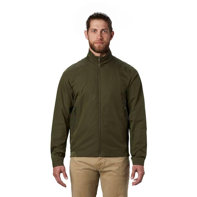 Mountain Hardwear Boultway Jacket Dark Army Large 1851421304-L
