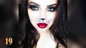 50 Creative Halloween Makeup Ideas For Women 1 Youtube