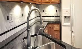 How To Put Backsplash In Kitchen Granite Countertop Gray Kitchen Cabinet Range Hood Roof Vent Cap